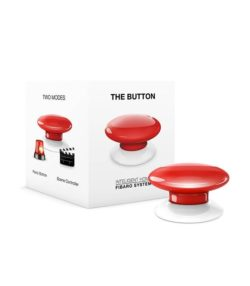 Fibaro the button cerveny