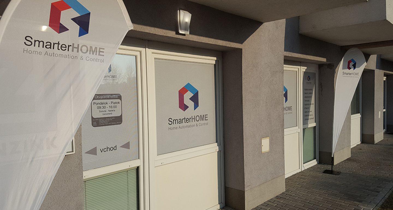 Smarterhome.sk showroom vchod